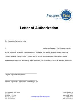 authorization letter sle visa application consent letter visa application 28 images 35