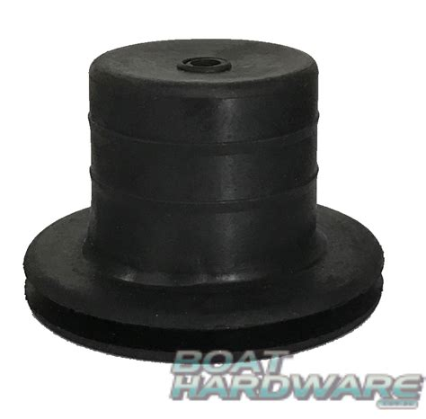 round boat cable black round rubber slop stop grommet for steering cable
