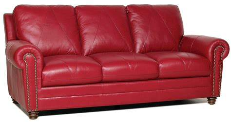 weston italian leather sofa from luke leather coleman