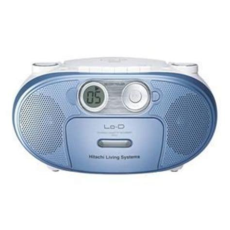 Cd Ck hitachi cdラジオカセットレコーダー ブルー ck 5y a ヤマダウェブコム