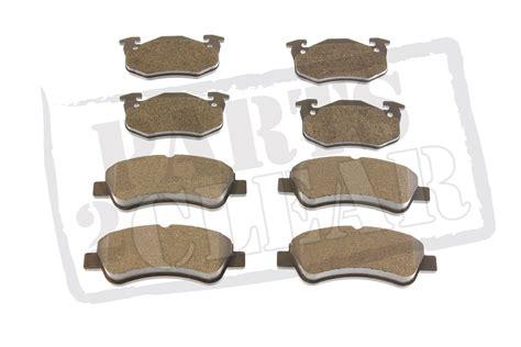 peugeot 206 front rear brake pads set 1 4 1 6 2 0 hdi