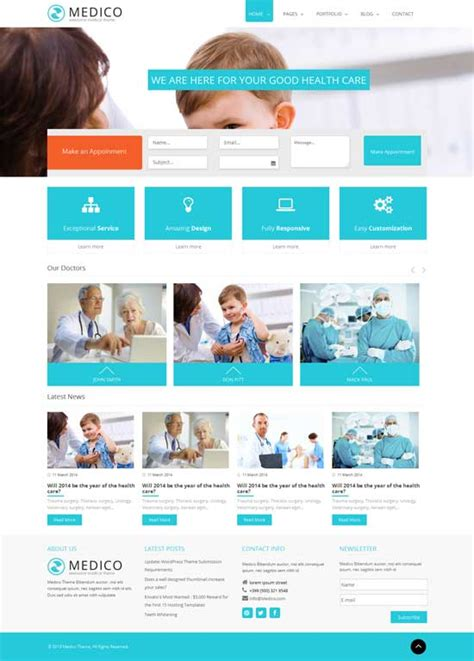 joomla health template 20 best health joomla templates