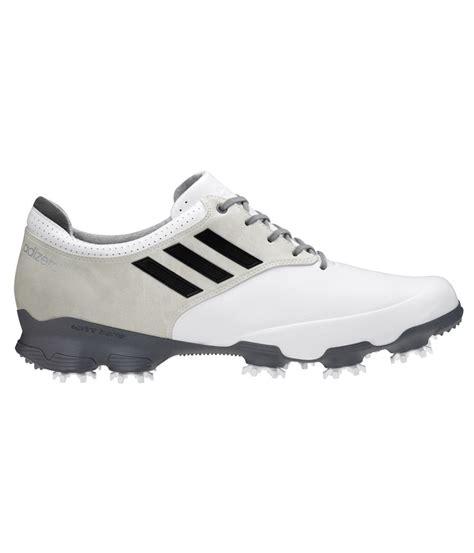 adidas adizero tour golf shoe white black