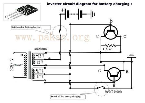 inverter battery charger circuit diagram make your own 50 to 500 watt power inverter ups in urdu