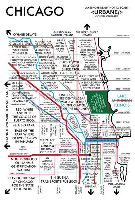 chicago neighborhood map with streets chicago neighborhoods map words illustrations