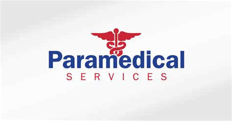 White Design by Paramedical Services Corporate Logo Full Colour On White