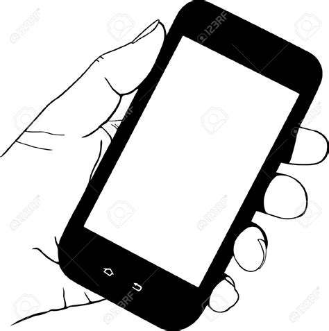 clipart cellulare clipart phone pencil and in color clipart phone