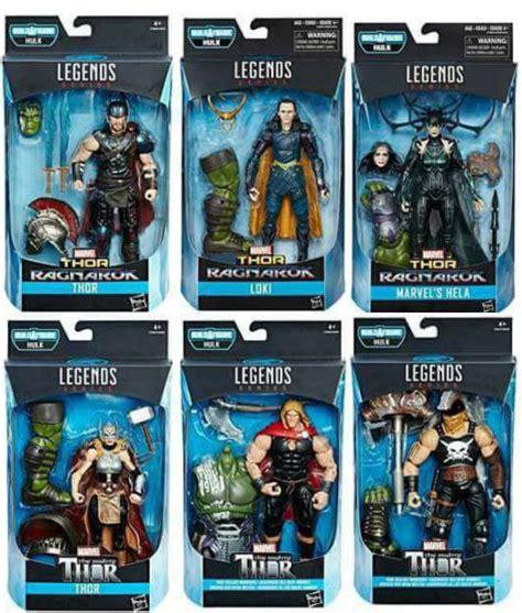 marvel figure 6 set set of 6 build a figure gladiator marvel legends