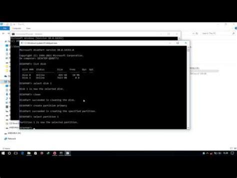 format flashdisk standar tutorial format flash disk lewat command prompt cmd youtube