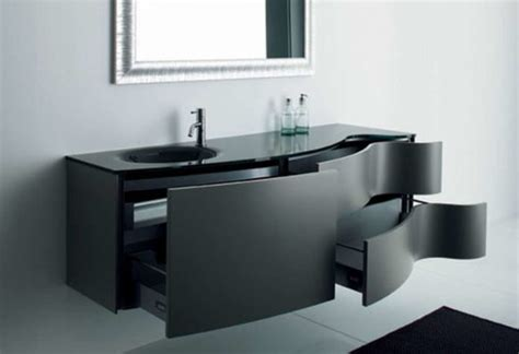 Floating Storage Cabinets Bathroom Black Wooden Floating Cabinet With Door With Wall Cabinet Storage And Arched