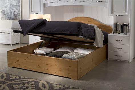 letti matrimoniali con contenitore in legno mobili pino 187 letto contenitore in legno