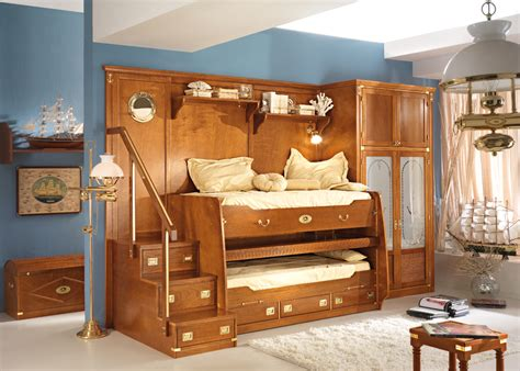 bunk beds bedroom set great sea themed furniture for and boys bedrooms by