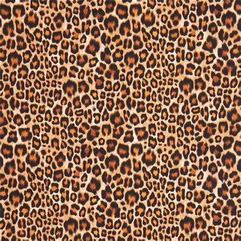 leopard spots animal print jungle brown fleece fabric black brown leopard spot animal skin print michael miller