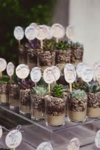 Rustic wedding favor ideas succulent wedding favors