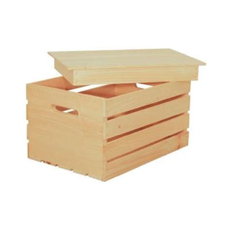 crates pallet 18 in x 3 in pine crate lid