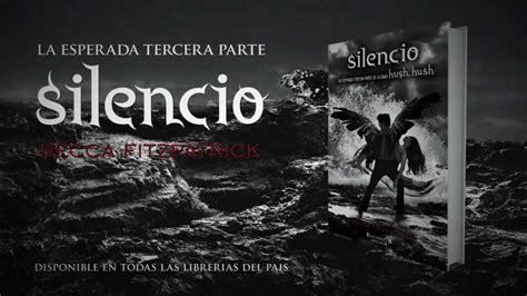 libro silencio en hanover close silencio de becca fitzpatrick spanish book trailer youtube