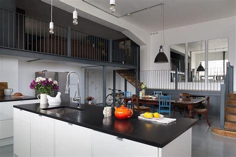 design dapur nuansa ungu dapur cantik dengan nuansa industrial kumpulan desain