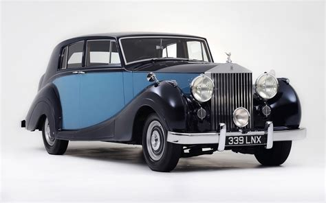 1950 rolls royce silver wraith of george formby static