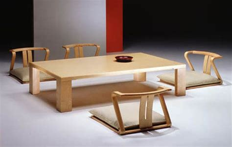 Japanese Dining Room Table | japanese dining room furniture for a minimalist japanese