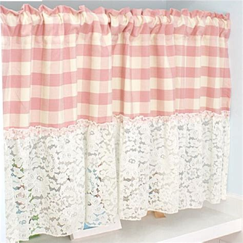 pink kitchen curtains popular pink kitchen curtains buy cheap pink kitchen
