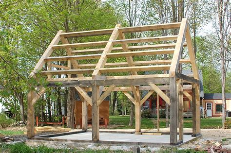 building a frame house timber frame structure homesteading pinterest