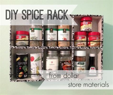 diy outdoor spice rack 21 exciting dollar store diy projects