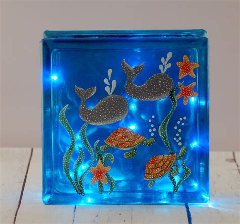 glass block lights glass block lights 28 images lighted quot etched quot
