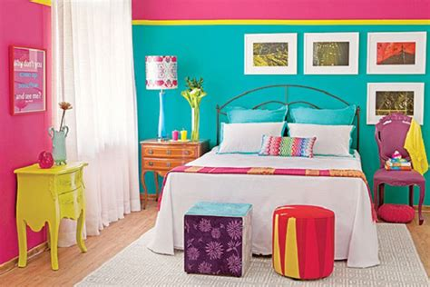 neon paint colors for bedrooms 15 inspiring color blocked interiors brit co