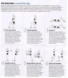 ideas  diastasis recti exercises  pinterest