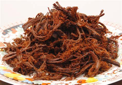 resep   membuat rendang daging suwir
