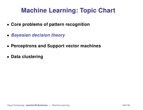 pattern or meaningful unit of information machine learning