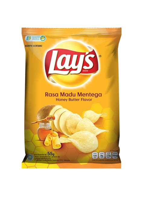 lays snack potato chips honey butter pck  klikindomaret