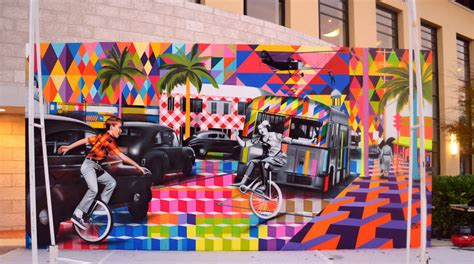 Los Angeles Wall Mural big walls by eduardo kobra miami fl street art and