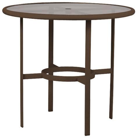 Acrylic Bar Table Tropitone 190398a 42 Bar Table With Acrylic Glass Top