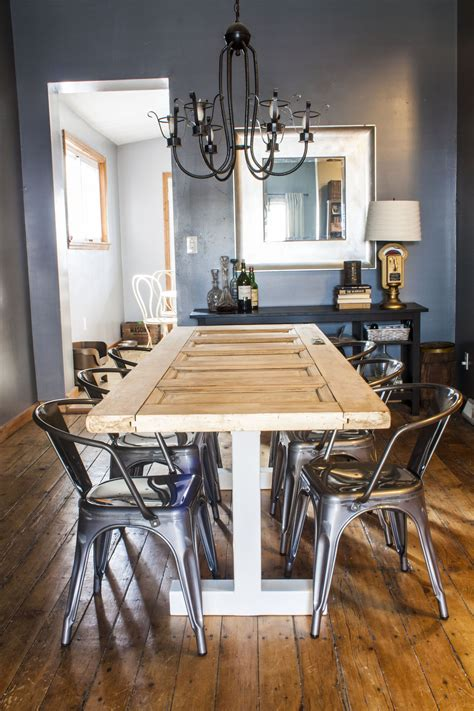 Turn An Door Into Your Dining Room Table Our