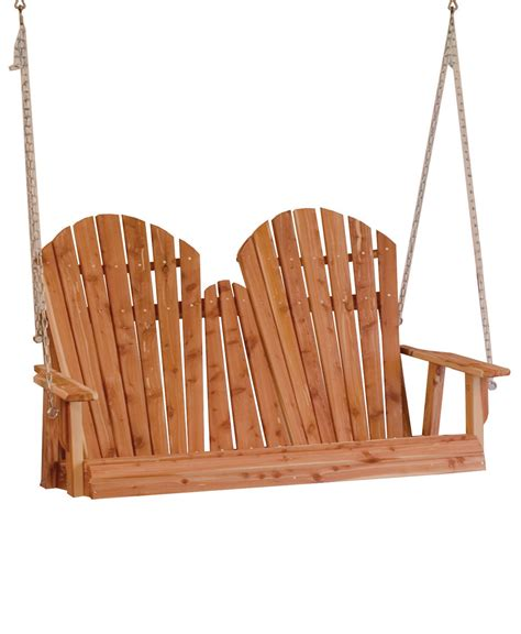 adirondack porch swing amish direct furniture