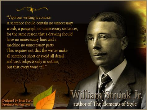 steunk style william strunk jr quotes quotesgram
