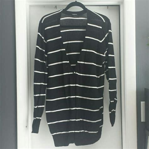 torrid sweaters blackwhite striped boyfriend cardigan
