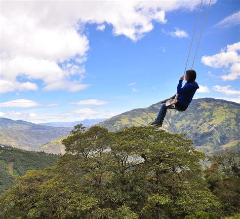 swing at the edge of the world edge of the world swing ecuador 83 unreal places you