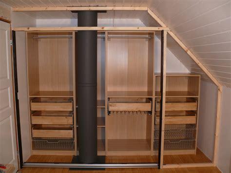 Pax Malm Wardrobe by Walk In Closet Using Pax Malm Doors