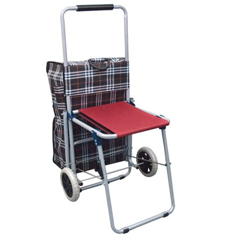 shopping cart with seat variety of products for deaf deafness hearing impaired