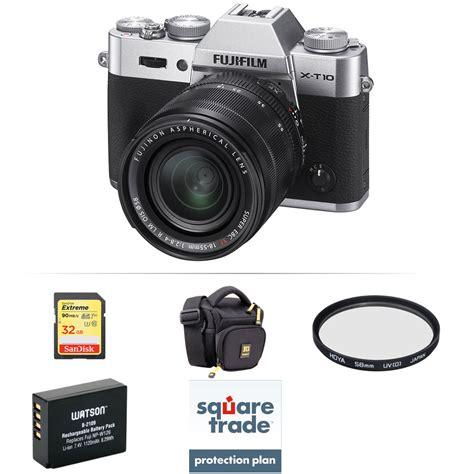 Fujifilm X T10 Only Free Memory 32gb fujifilm x t10 mirrorless digital with 18 55mm lens b h