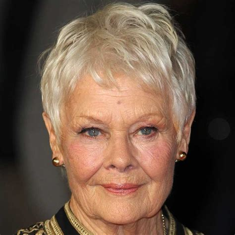 judi dench hairstyle front and back of head how to style judi dench hairstyle front and back of 30