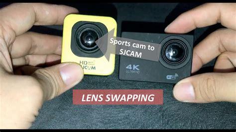 Lensa Sjcam how to sjcam lens cara mengganti lensa sjcam m10