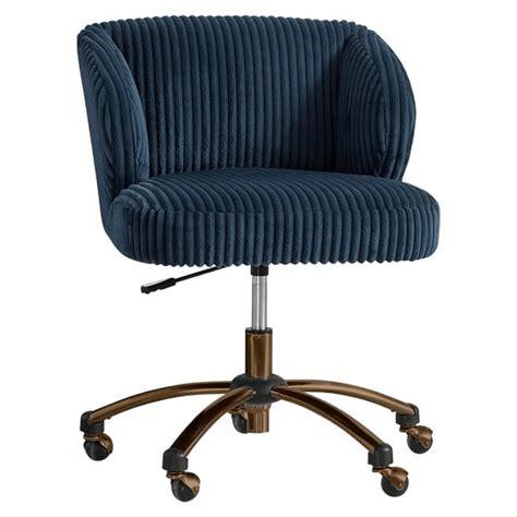 Pbteen Desk Chair by Midnight Chamois Wingback Desk Chair Pbteen