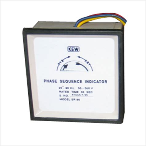 phase sequence inductor krishna electric works manufacturer supplier trading company delhi india