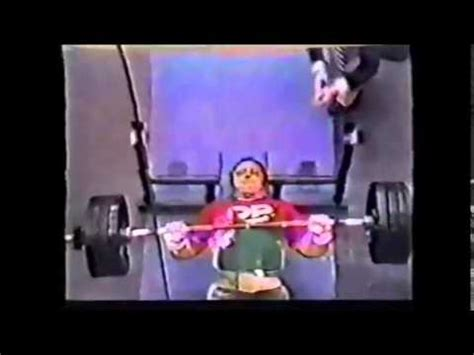 bill kazmaier bench press bill kazmaier 287 5 kg 633 lb raw bench youtube