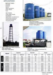 Professional Interior Designer water tank commercial industrial water storage