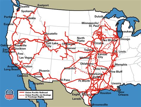 union pacific railroad map map of union pacific railroad lines pictures to pin on pinsdaddy