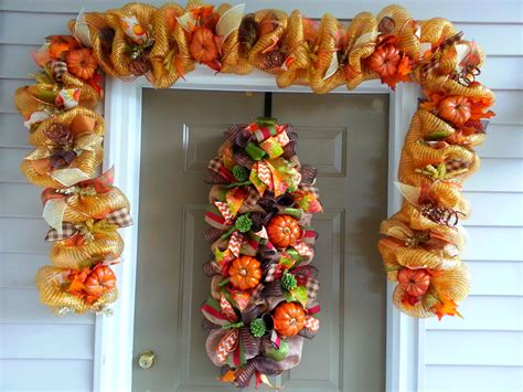 fall garlands decorations home decor 2017